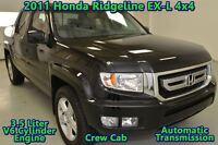 2011 Honda Ridgeline EX-L, LEATHER, HEATED SEATS, 4WD, LOCAL