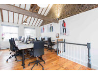 Fantastic Media Style Office for up to 10 people in Clerkenwell
