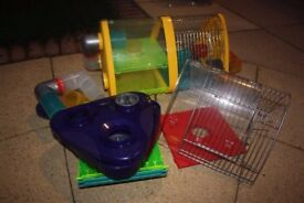 Rotastak Triangle Pod for Hamsters Mice Gerbils (2 available) Used but good condition.