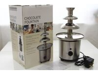 NEW Chocolate Fountain 3 Tier 40cm, Party Chocolate Pot Fondue Melting Machine