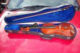 violin 3/4 size very good condition