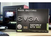 2 x EVGA GeForce GTX 980 Super Clocked [ reference design ]