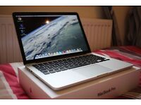 Macbook Pro 2013 Retina Display - High Spec - Like New