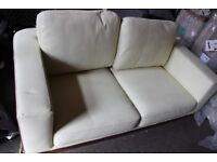 Made Leather Sofa White