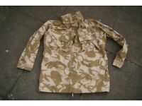 New - British Army Issue (desert pattern) Goretex Jacket in Size XL