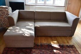 Versatile Family Room L-Shaped Sofa/Bed with built in storage - sleeps 2