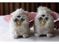 REDUCED now £150 Snowball FURBY Generation 1 Release Date: Oct. 1998; Pair of SNOWBALLS