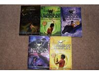 Set of Percy Jackson paperback books