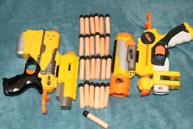 Nerf Pistols with sights