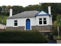 2 bedroomed bungalow in Peebles - attic ripe for conversion