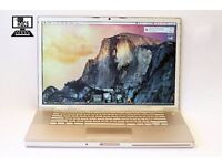 "17"" APPLE MACBOOK PRO 2GHZ 2GB 320GB ADOBE CS5 ABLETON LOGIC PRO FINAL CUT PRO MICROSOFT OFFICE 2011"