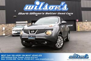 2012 Nissan Juke SL AWD SUV! LEATHER! NAVIGATION! SUNROOF! REAR