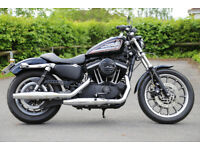 Harley Davidson Sportster 883R - 2006 (HD 2007 MY) fuel injection model.
