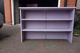Shelves for bedroom, study, workroom, kitchen or living room.