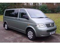 2007 VW Transporter - Caravelle Shuttle SE.. 2.5 TDi 174 Bhp.. 8 Seats Long Wheel Base.. 1 Owner..