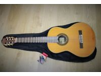 Aria- Acoustic guitar with cover + Capo and Turner