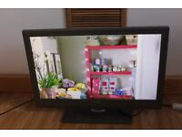 LINSAR 22'' HD READY LED TV WITH DVD, USB, 2 x HDMI