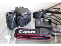 Canon EOS 700D 18MP Digital SLR Camera (Body Only) - Very Good Condition! Under 3K Exposures!
