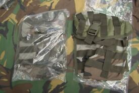 Brand New - PAIR of Arktis MOLLE (large) Utility FFD Pouches