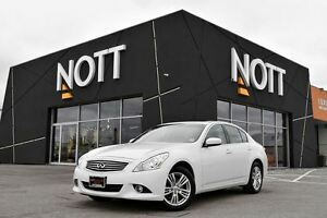 2012 Infiniti G37X Premium AWD | Moonroof, Low Kms!