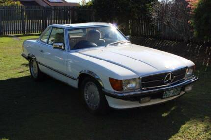 1980 Mercedes-Benz 350SL Convertible Torquay Fraser Coast Preview