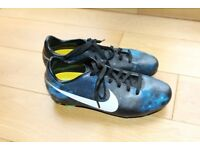Nike Mercurial CR7 Galaxy kids football boots. Size UK 4.