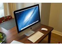 Apple iMac Slim *2014* 21.5 inch i5 Quadcore 2.7 Ghz 8gb Ram 1TB HD Logic9 Adobe FinalCutProX/Studio