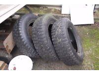 3 tyres