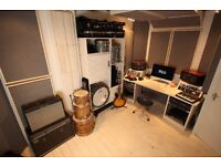 New build amazing writing space / music production studio / mixing /rehearsal room in London Fields