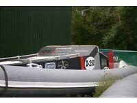 Race Boat BWM 9 Metre