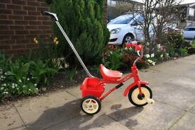 Childs Trike with parental handle control. Little used.