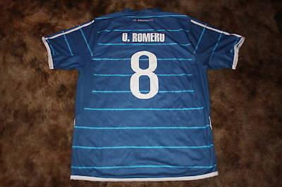 OSAEL ROMERO SIGNED 2010 EL SALVADOR SOCCER TEAM JERSEY image