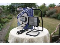 Handi-light 300w Portable Flood/work lamp with stand in original box.