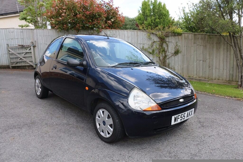 Ford Ka 2005 Low Mileage With Fsh In Dark Blue In Newton Abbot