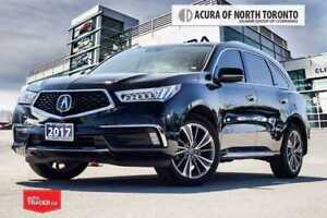 2017 Acura MDX 6P at Elite 7year 130000 Acura Warranty Included