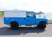 1970 land rover lwb