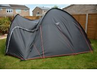 Gelert Cadiz 5 Tent. Only used twice. Photos attached.