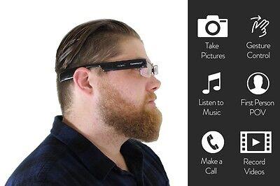 DigiOptix Bluetooth action camera eyewear smart glasses 8G