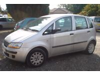 Fiat Idea Active 2005-05-plate