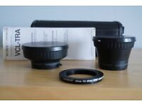Sony VCL-TRA Telephoto and Wide angle Auxiliary conversion lens kit
