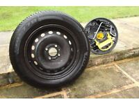 Renault Clio spare wheel and jack kit