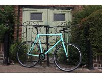 NEW IN ! Steel Frame Single speed road bike fixed gear racing fixie bicycle FAA