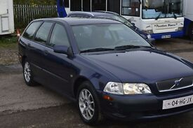 CLEAN LEFT HAND DRIVE VOLVO S40, DRIVES SMOOTHLY, AIRCONDITIONED AND PAPERS IN HAND....CALL MARC
