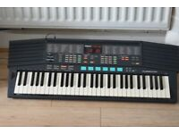 YAMAHA PSR-48 MID/PITCH BEND/POWERADAPTER/CAN BE SEEN WORKING