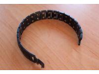"""Titanium Gunmetal Magnetic Bracelet (7"""")"""
