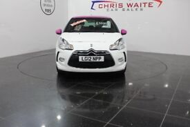 Citroen DS3 1.6 e-HDi Airdream DStyle 3dr (white) 2012