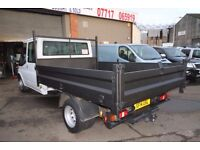 FORD TRANSIT 100 T-350 DOUBLE CAB TIPPER – 14-REG