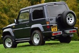 SUV 4 x 4 [ Daihatsu Fourtrak ] - Fully refurbished from top to bottom, amazing condition.