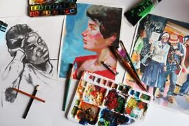 Painting & drawing class