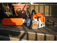 Stihl MS181c 2014 petrol chainsaw in mint condition